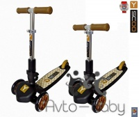 Y-SCOO RT TRIO 120 gold